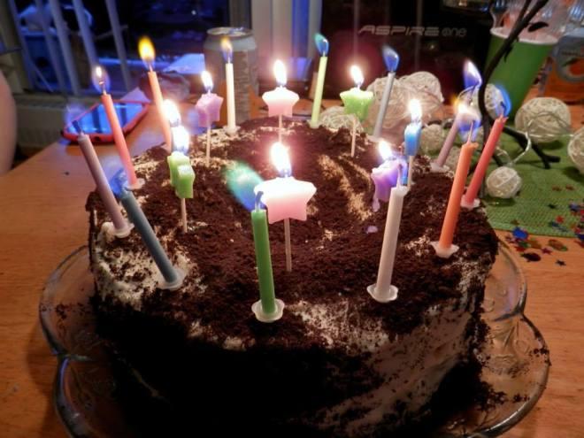 My Oreo cake