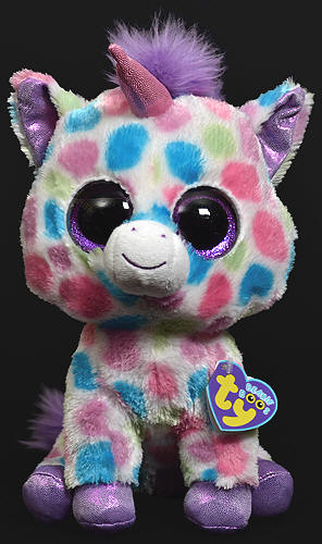 A unicorn cat with purple glitter... this pretty much just screamed Jeremy's name.