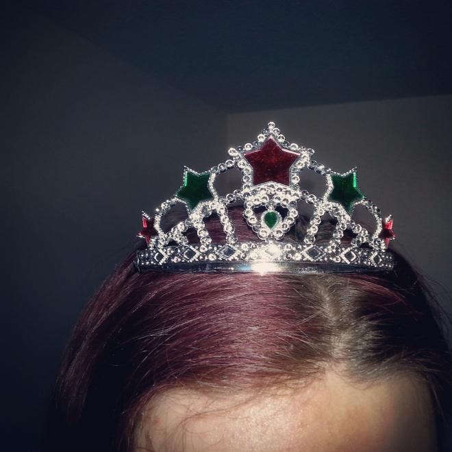 Zie rocked this tiara!