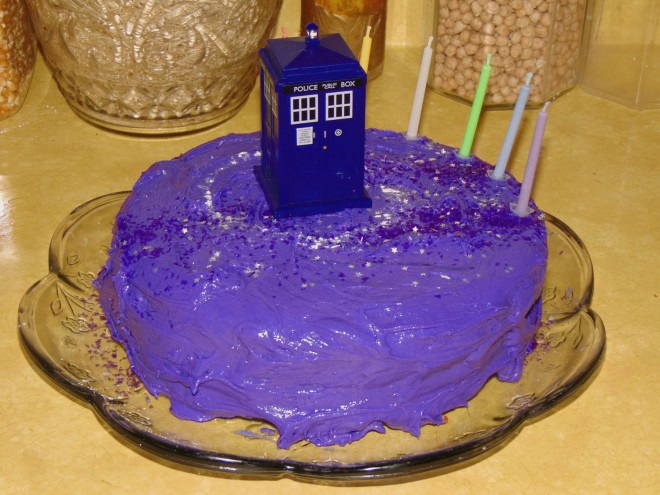Doctor Who cake2