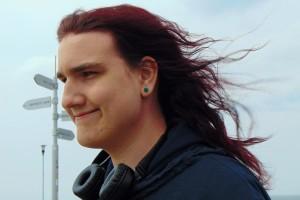 wind in Jeremy's hair