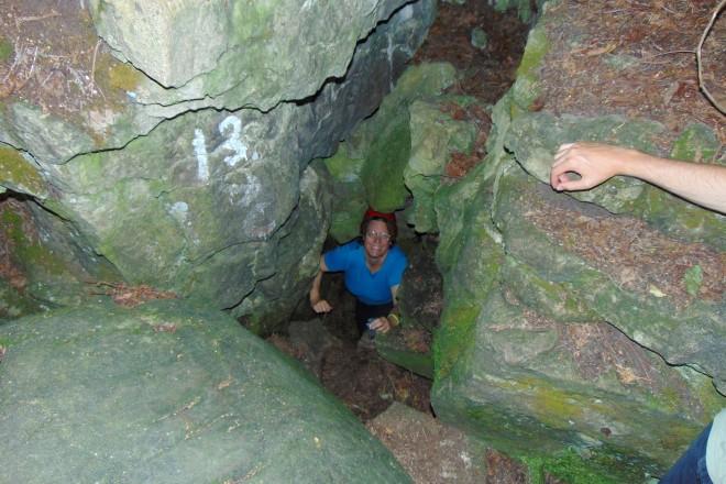 me leaving Sherbet Tunnel