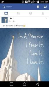 Tim mormon