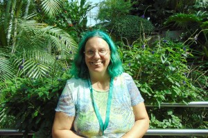 me at the butterfly conservatory