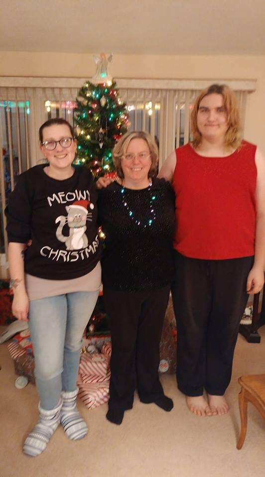 Kait, Kathleen, and Emma