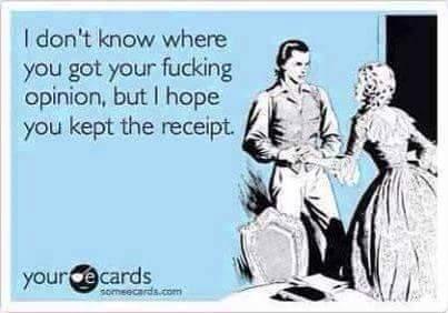 opinion receipt