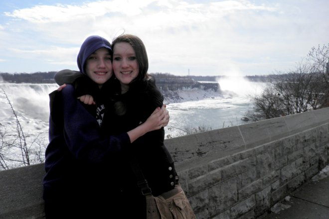 Colin and Kait at Niagara Falls