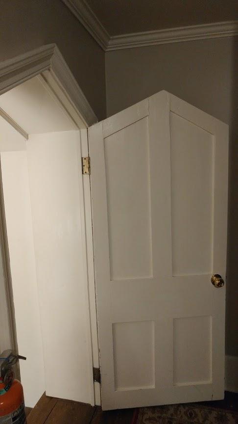 My room's triangle door