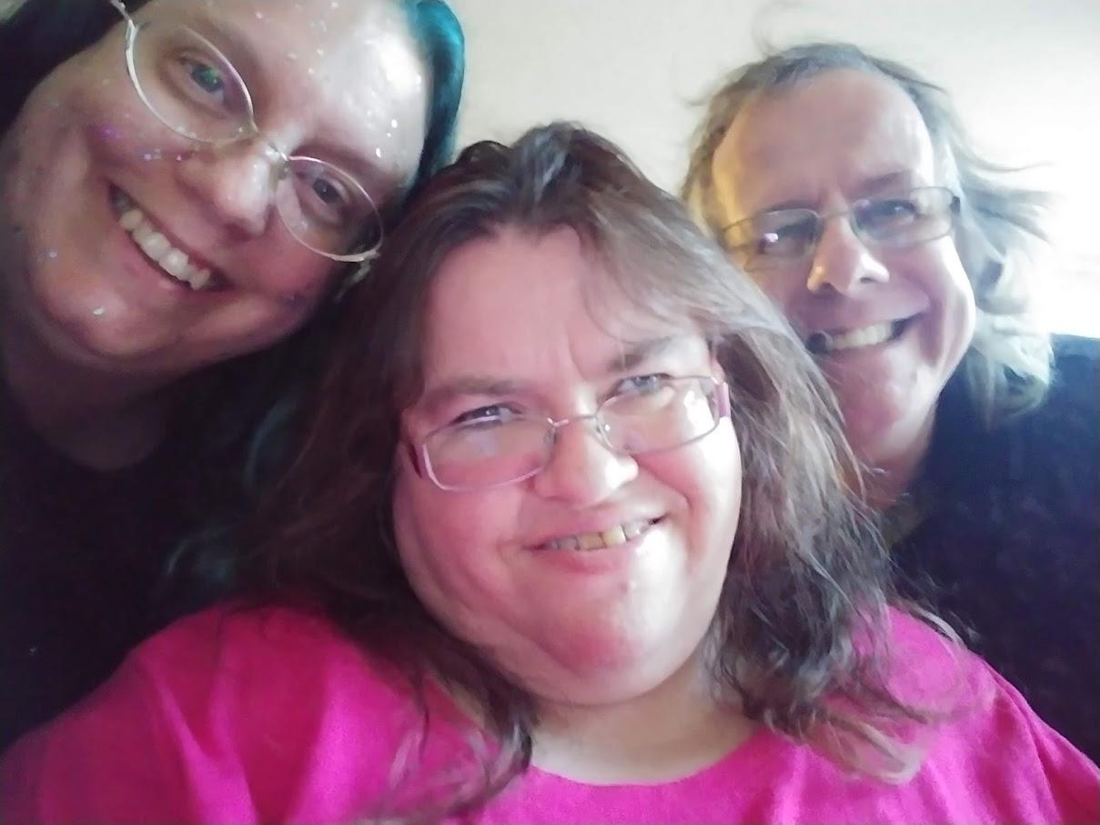 Kathleen, Allison, and Sean