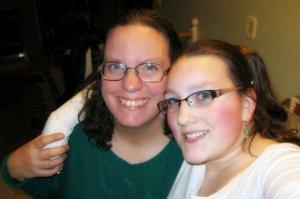 Kathleen and Kait 2009