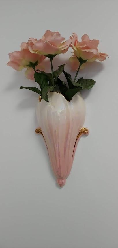 Nana's vase and roses