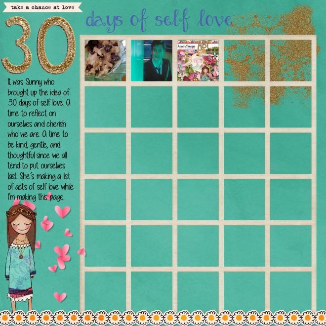 30 days of self love