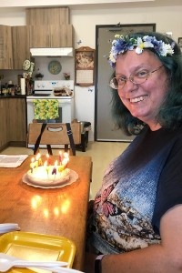 me and my cake cropped