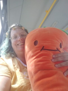 Me and my giant carrot