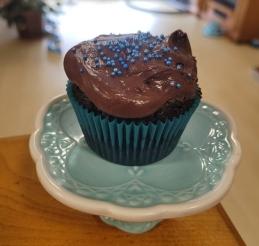 Colin's birthday cupcake